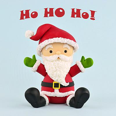Santa Claus Cake Topper