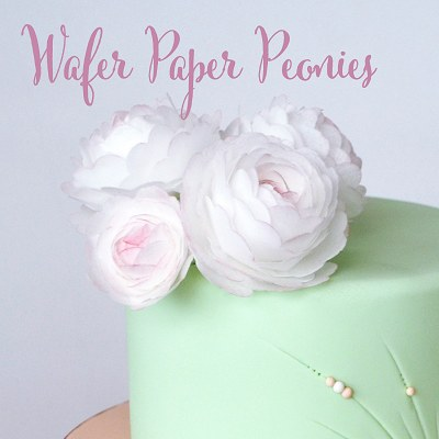 Wafer Paper Peonies