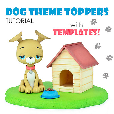 Dog Theme Toppers