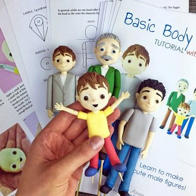 People - male figurines