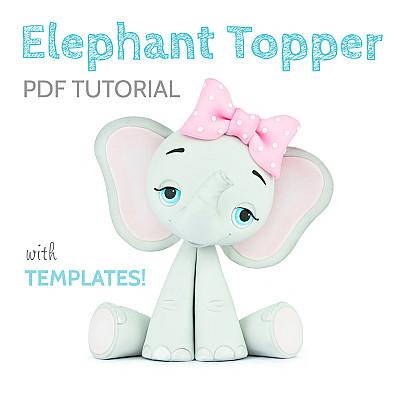 Elephant Topper PDF TUTORIAL