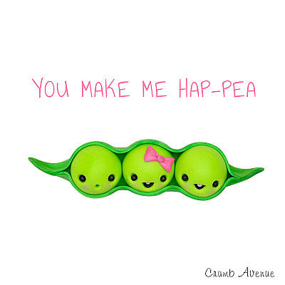 Cute Peas in a Pod