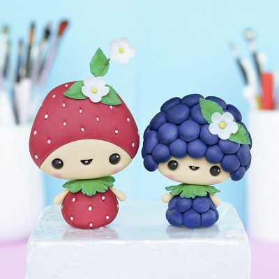 Strawberry and Blackberries