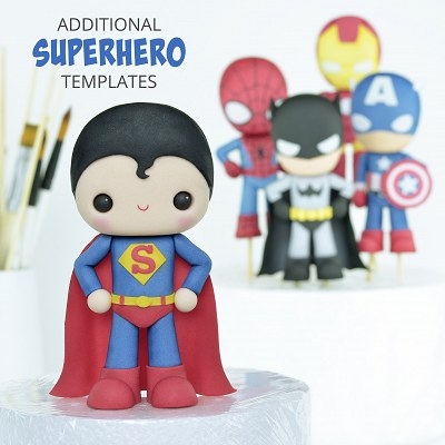 Additional Superhero Templates