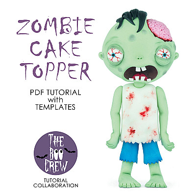 Zombie Cake Topper