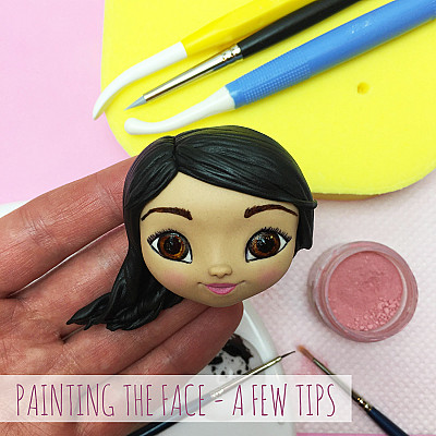 Painting the face - a few tips