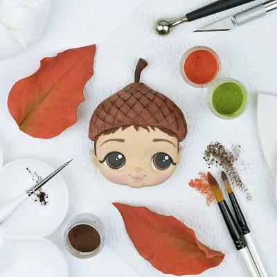 Acorn Fairy Face