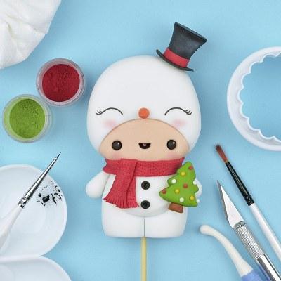 Cute Snowman Character