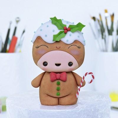 Gingerbread Man Character