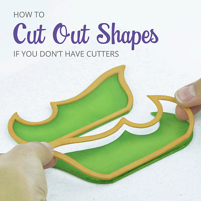 How to cut out shapes with a scalpel without the paste moving around the board