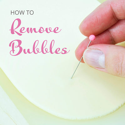 How to remove bubbles