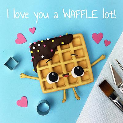 Cute Waffle