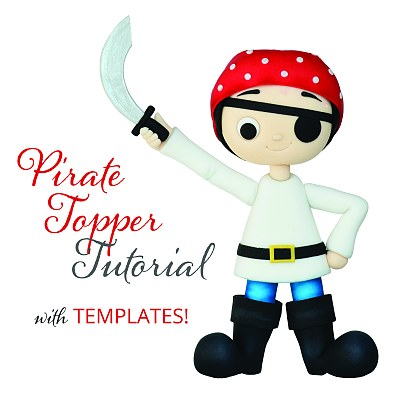 Pirate Topper Tutorial with Templates