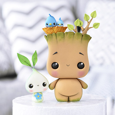 Groot & Sprout