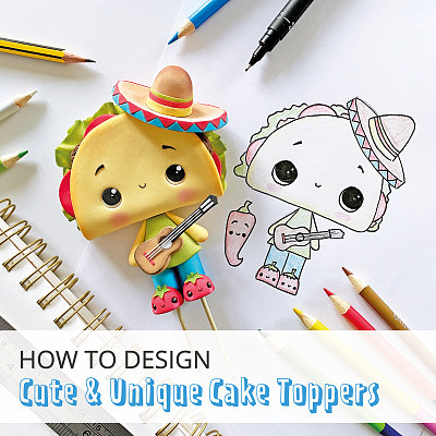 How to design cute & unique cake toppers