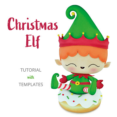 Christmas Elf - TUTORIAL with TEMPLATES