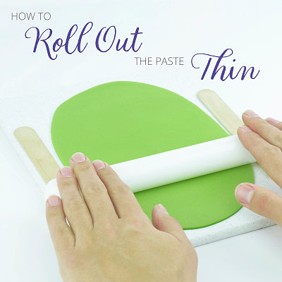 How to roll out the paste thin