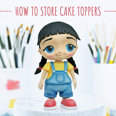 How to store cake toppers