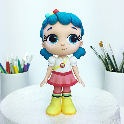 True and the Rainbow Kingdom - Cake Topper