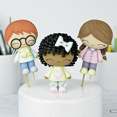 Cute Kids - PDF tutorial with TEMPLATES